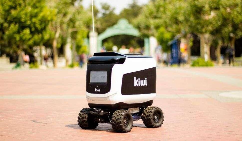 Robot reparto comida a domicilio