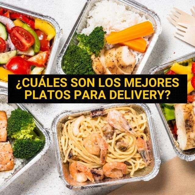 Mejores platos para delivery y takeaway Umappi
